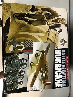 KING & COUNTRY ROYAL AIR FORCE RAF007-01 HAWKER Battle Of BritAin HURRICANE MK1