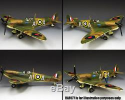 King and Country Spitfire Mk. II (Battle of Britain 1968) RAF076