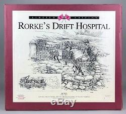 LARGE BRITAINS -RORKES DRIFT HOSPITAL- Ltd ED' ZULU WAR SOLDIER MODEL -00143