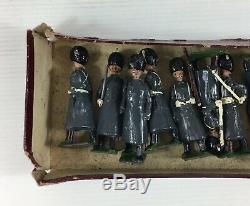Large Job Lot Britains Lead Soldiers Grenadier Guards Great Coats 312 Poor Boxes