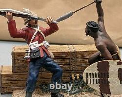 Lovely Britains Zulu War The Deadly Dance Zulu Warrior and British 20147 SU856