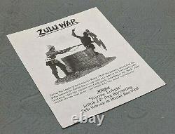 Lovely Very Rare Britains Zulu War Warrior Twilight 3 Pieces No 20084 SU786