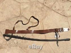 M1906 Ames Saber And Sam Brown Belt. Pristine Condition. Original. Still Useable