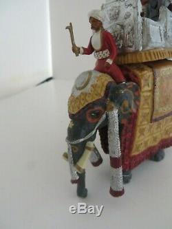 Marlborough 1903 Delhi Durbar, The Viceregal Party On State Elephant