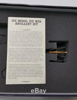 NEW W. Britains American Civil War Regiments 6 Horse Artillery Set NIB