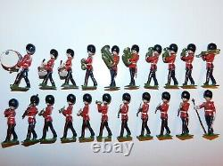 Old BRITAINS England 1950s Lead, Changing of the Guard, 83 Piece Boxed Set #1555