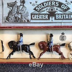 PREWAR BRITAINS #45 3rd Madras Light Cavalry w Box Make offer