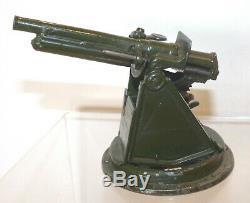 PS05 Britains pre WW2 4.5inch Anti Aircraft Gun from set 1522. VGC