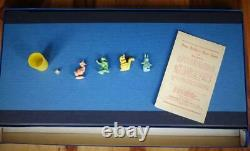 Peter Rabbit's Rare Race Game With Timpo Lead Figures C1945 By Beatrix Potter