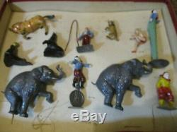 Pre War Charbens MIMIC Circus Set Boxed Amazing Condition Please See Pictures