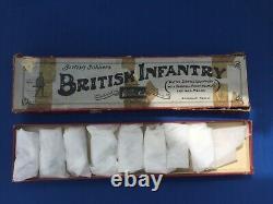 Pre War Lead Britains British Infantry in Gas Masks Set 258