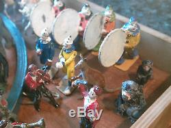 Rare Large Collection Of Vintage Britains Mammoth Lead Circus Over 100 Pc