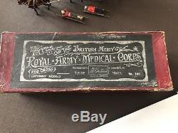 Rare Boxed Britains Set #145 Royal Army Medical Corps'Collar Harness' 1906-1914