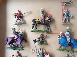 Rare Britains Herald 7480 Swoppets Knights Wars Of The Roses large Boxed Set