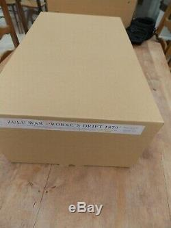 Rare Rorkes Drift Zulu War Diorama by Britain's ltd edition of 2000-original box