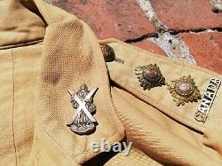 Royal Flying Corps Canada (Black Watch) Uniform Medals and Papers Collection