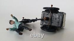 TAYLOR & BARRETT, ICE CREAM SELLER on TRICYCLE, Rare Hollow Cast Lead, Britains