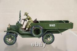TOY ARMY WORKSHOP WWI BRITISH ARMY FORD AMBULANCE & MEDIC STAFF BOXED paf