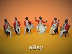 Taylor & Barrett Vintage Pre-war Rare 1924 Lead Black Afro American Jazz Band