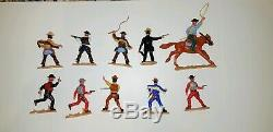 Timpo 4th last Series Cowboys Dr Tripp and Sheriff Toys Great Britain