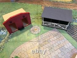 Timpo Britains Toys Vintage 159 Farm House Agricultural Set With Buildings Rare