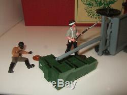 Trophy BD4 Savage Fury Set Zulu Wars Diorama. Makeshift Redoubt & 4 Figures 54mm