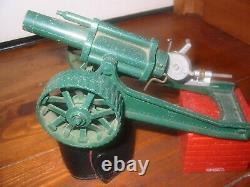 Vintage 1970's Britains Howitzer Field Gun, Including Shells. #1