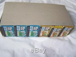 Vintage Britain's Trade Box mini Set 3 x 1061 Cowboys & 3 x 1081 Knights ex shop