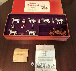 Vintage Britains Historical Series State Open Landau Britains 9402