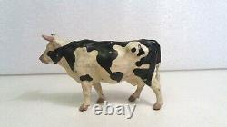 Vintage Britains Lead Map Of The World Cow
