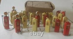 Vintage Britains Petrol Pumps With Original Trade Box