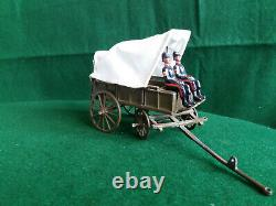 Vintage Britains RAMC Horse-drawn Ambulance and Casualty Station