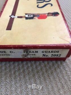 Vintage Painted Lead BRITAINS SOLDIERSNo. 2082 Guards Antique Set