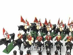 Vtg Britains Metal English Soldier Lot 111 Horseguards, Yeomen, Scots Guards +