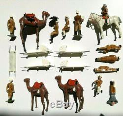 WM. HOCKER (Britains rel.)SET NO. 35MSC CAMEL BEARER COMPANY + MOREN/MINT