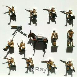 WM. HOCKER (Britains rel.) SET NO. 3 K. S. O. B. MAXIM GUN DETACHMENT N/MINT