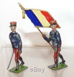 WW23 Britains Paris Office Zouaves. Circa 1905 16pcs