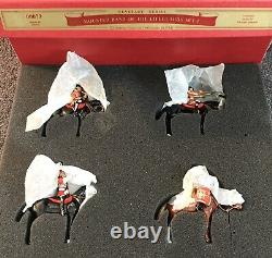 W BRITAINS 00073 CENETARY MOUNTED BAND LIFEGUARDS Set 1 Collectors INTACT
