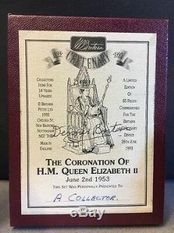 W BRITAINS #5891 THE CORONATION OF HM QUEEN ELIZABETH II JUNE 2nd 1953 RARE