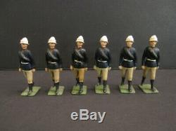 W. BRITAINS Mountain Artillery with 4 Donkeys and Cannon Old Toy Soldier (29)
