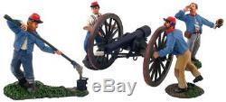W Britain 31032 Confederate Artillery Set No. 2, Return to B ACW Britains