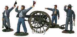 W Britain 31264 American Civil War We Hit Em Boys! Confederate 10 Lb Parrot Gun