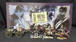 W. Britain American Civil War 17433 Confederate 6 Horse Caisson Set Britains