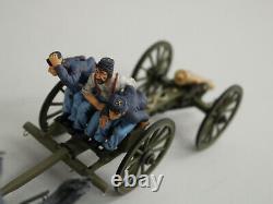 W Britain American Civil War Regiments Union 6 Horse Artillery Set 17379 NIB New