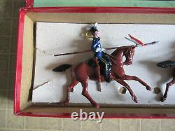 W Britain (Britains) No. 100 21st Empress of India's Lancers, (not timpo)