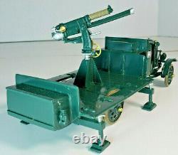 W Britain Britains Premier WWI 41036 Thornycroft Lorry Anti-Aircraft Gun 4 Men