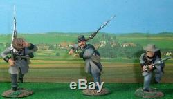 W Britain Don Troiani'lone Star' Confederate Sets 1 And 2 #17014 & 17106 Ret