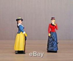 W Britain Full-Set -PETTICOATS COLLECTION- 10x54mm Classic Metal Figures As New