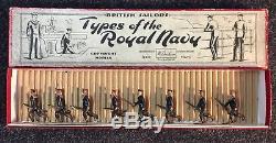 W Britain No. 78 Types of the Royal Navy Bluejackets, Rare