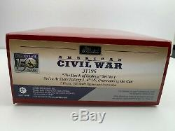 W. Britain The Death of Cushing Set No. 1 31196 ACW